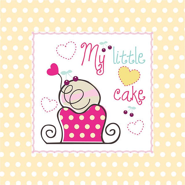 My Little Cake Vector fresh best free vector packs kits