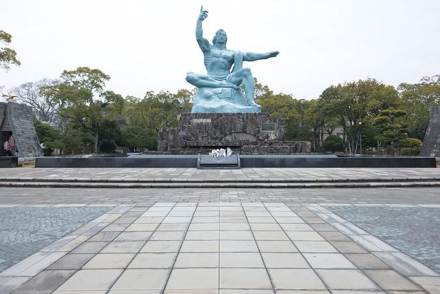 平和公園 平和祈念像
