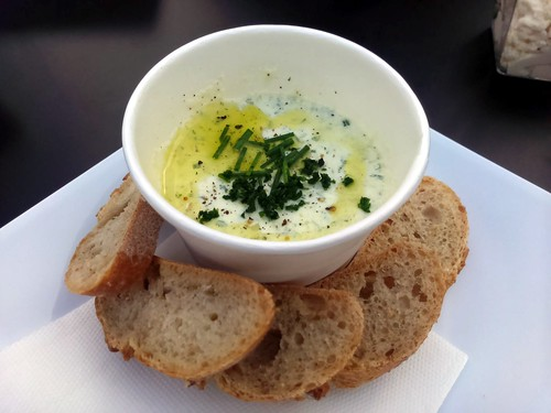 Whipped Fresh Cheese with Chives, Garlic, and Parsley
