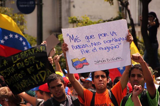 FEBRERO MARZO PROTESTAS EN VENEZUELA 1