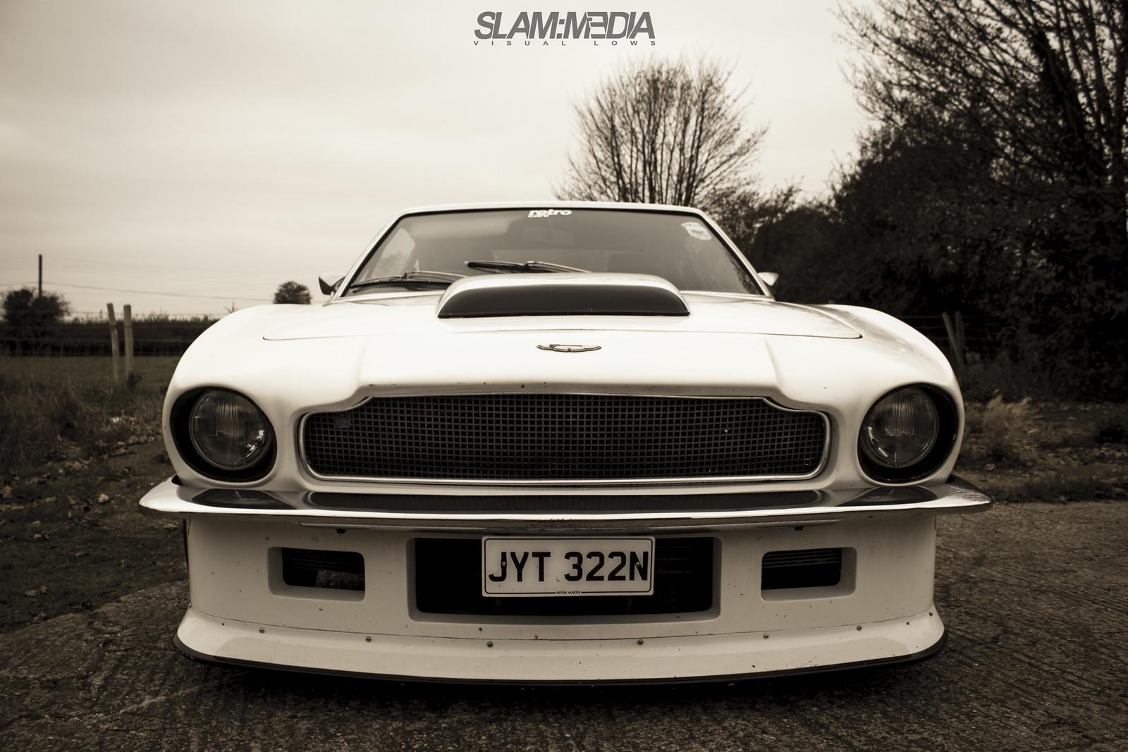 The Amazo Effect Aston Martin V8 Vantage The Mistress