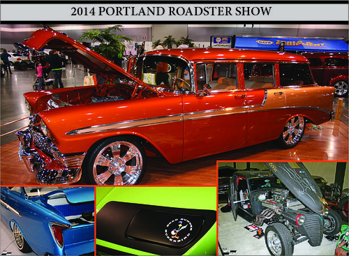 2014 Portland Roadster Show Updates including updates from Cuda Brothers about their favorite Plymouth Cuda at the show