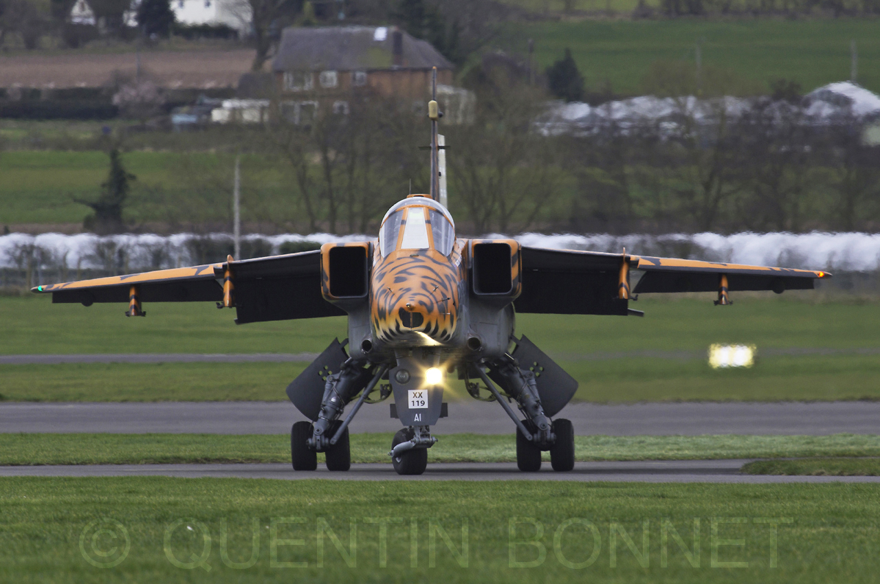 UK - Air Force Aircraft Sepecat Jaguar GR3A XX119