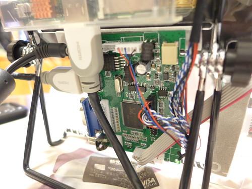 LCD 電路控制板
