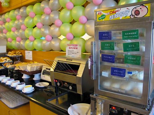 台南商務會館悠閒度假-早餐自助吧12