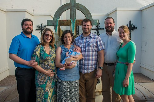 Caleb Jon, Emily, Bethany, Louisa, Andy, Josiah and Hannah