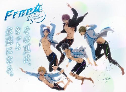 140505(1) - 俊美外表、魔鬼身材的高中生競泳動畫續集《Free!-Eternal Summer-》於7月首播、預告出爐!