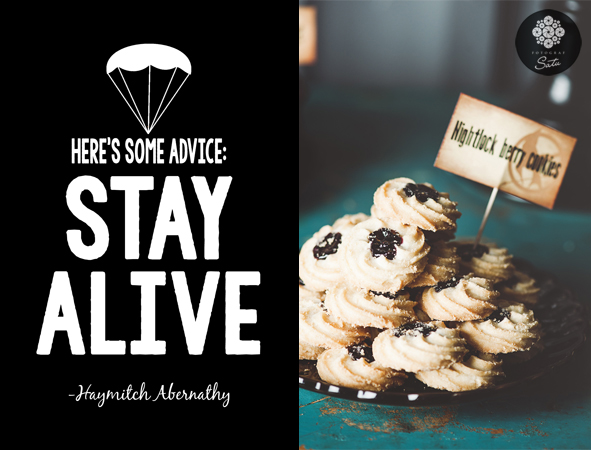 hunger games party stay alive