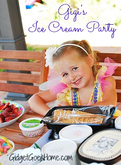 Gigi's Ice Cream Party