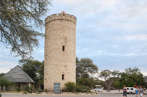 Okaukuejo tower, Etosha NP