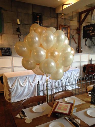 Heliumballonnen Goud Ivoor Wapen van Poortugaal