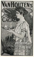 Werbeanzeige für Van Houten Kakao, Bild 1