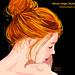 Ilustração Vetorial : Ruiva | Vector Illustration: Redhead