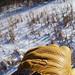 Altai lined elkskin leather gloves. (ii) by MTBradley