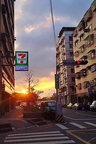 sunset jan dusk 01 日落 夕照 2015 一月