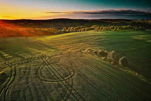 light sunset sky sun nature landscape lithuania twillight xris74 pixpassion