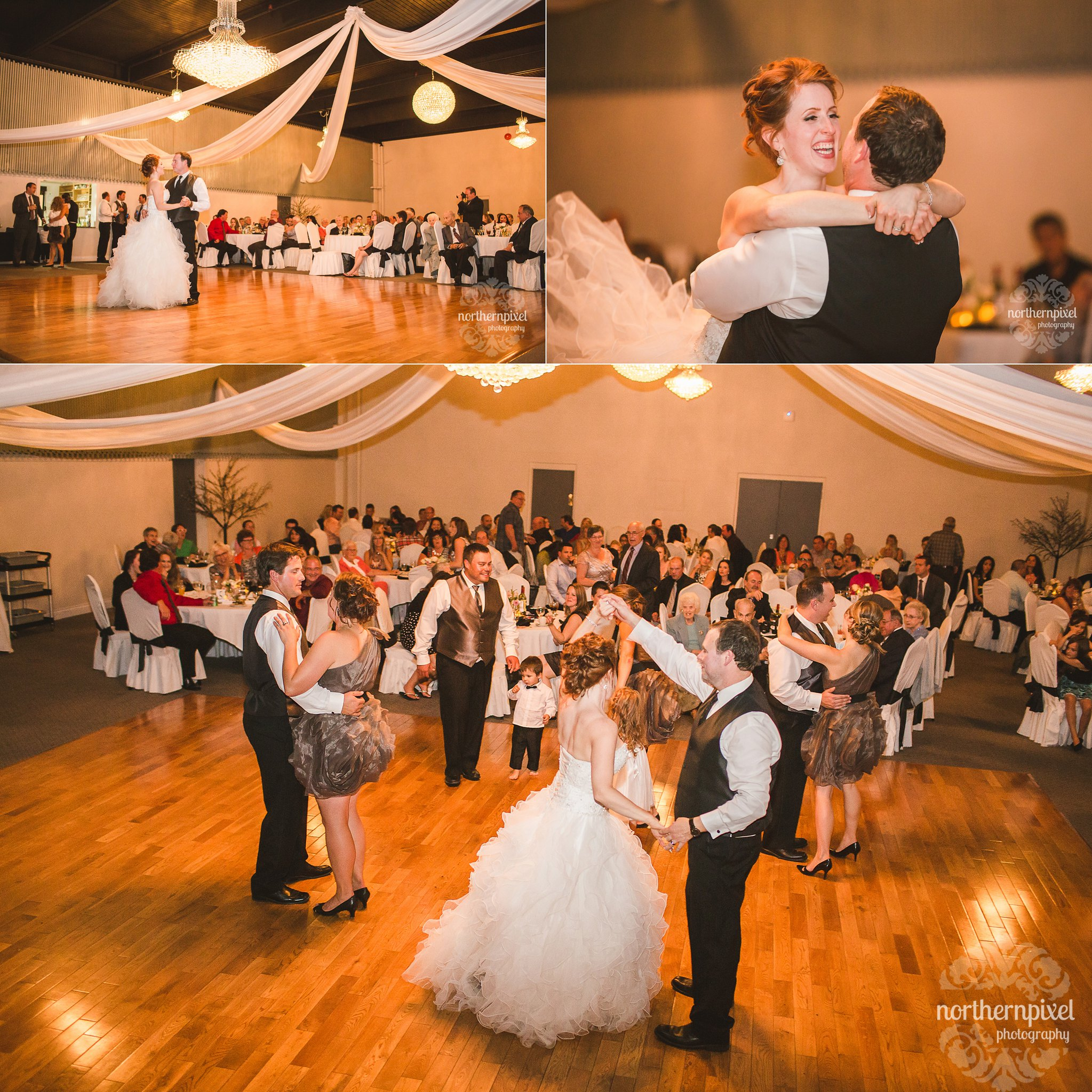 Hart Crown Banquet Hall Wedding Reception Venue - Prince George BC Photographers