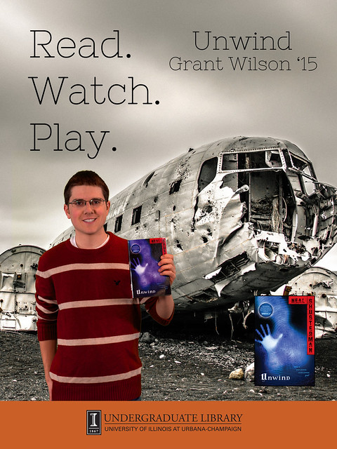 Read! with Grant Wilson. Photo courtesy of the Undergraduate Library