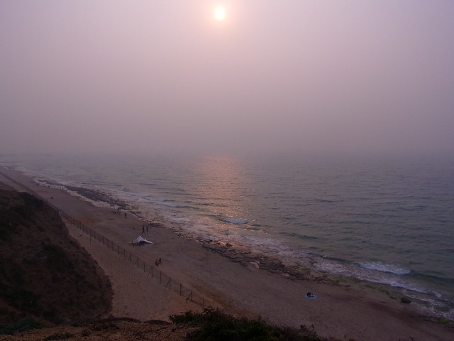 Tycho Sunset @ Tel Baruch