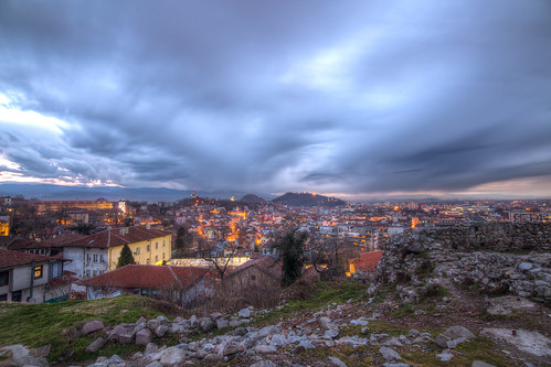 night hdr plovdiv