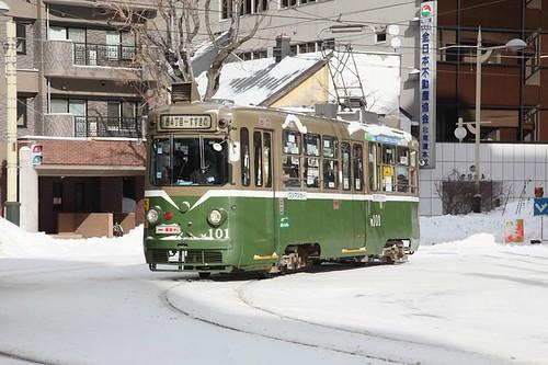 雪晴れのM101