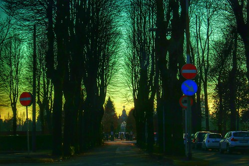 L'ora del vespro, #tramonto a Meda by Ylbert Durishti