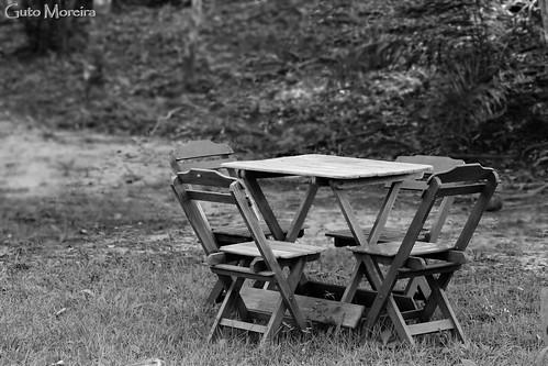 Mesa no parque