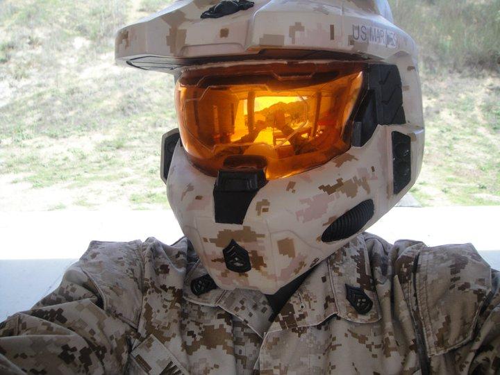 MARPAT Digital Camo HALO Helmet