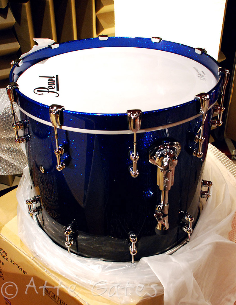 New Pearl Reference Pure kit in ultra blue fade, lots of pics