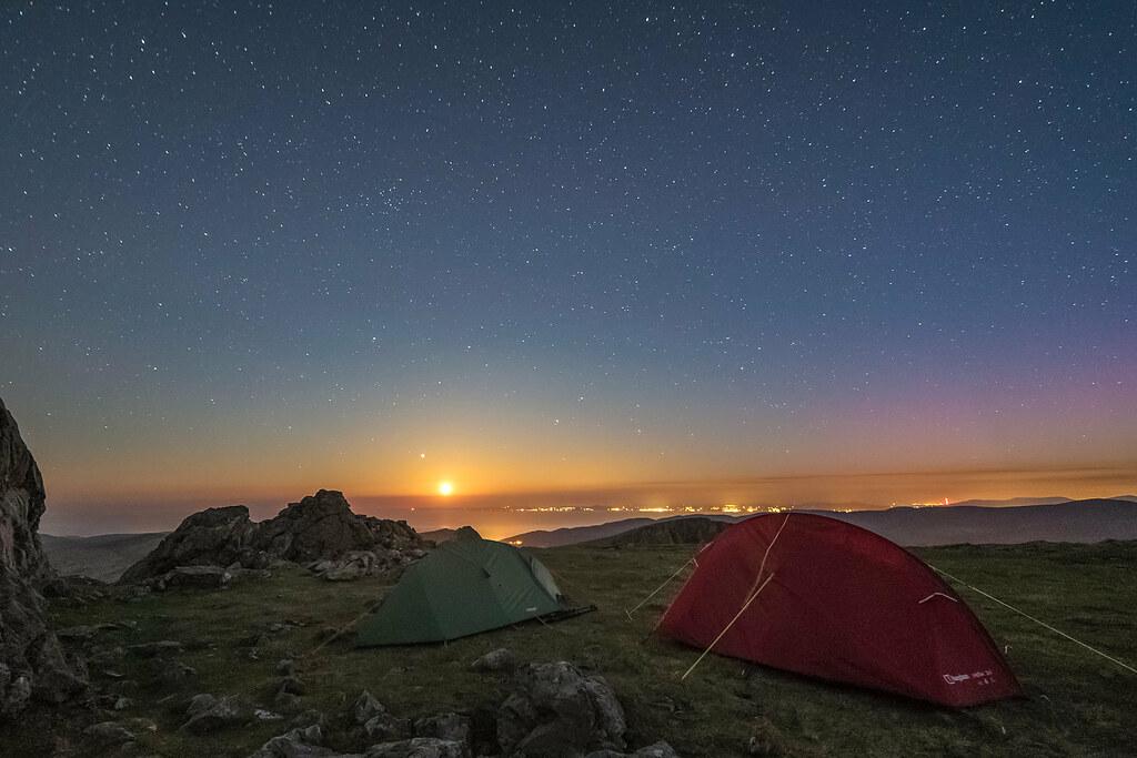 'Cadair Moonset' - Cadair Idris, Snowdonia