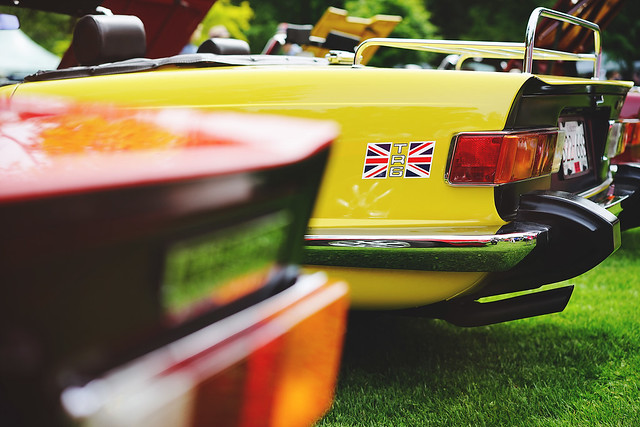 Yellow TR6 revisited