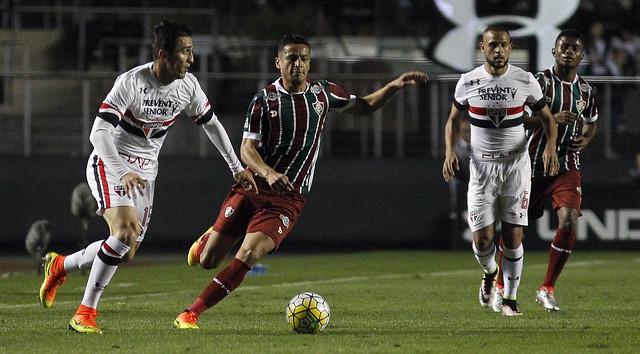 São Paulo x Fluminense  - 29/06/2016