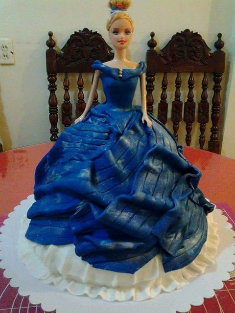 Cinderella Twirling Dress by Doughy Tart