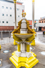 THE JAFFE MEMORIAL FOUNTAIN [NOW LOCATED OUTSIDE THE VICTORIA SQUARE SHOPPING CENTRE]-117846