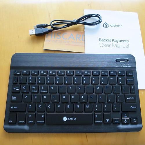 Bluetoothのワイヤレスキーボード