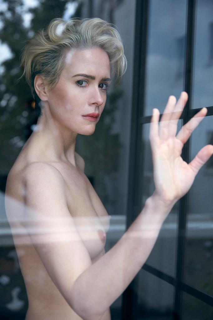 Сара Полсон — Фотосессия для «W» 2016 – 2