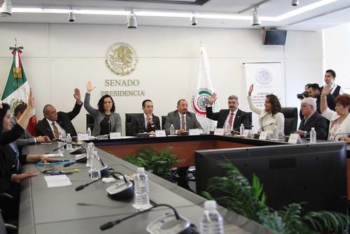 El día 5 de julio se llevó a cabo en el Senado de la República la reunión de instalación de la Comisión Especial para dar seguimiento a los hechos ocurridos en Nochixtlán, Oaxaca.
