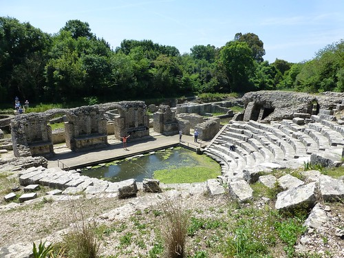 The ampitheatre at Butrint