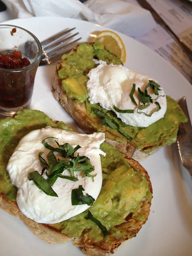 Revolver - Breakfast - Poached Egg on Avocado on Toast