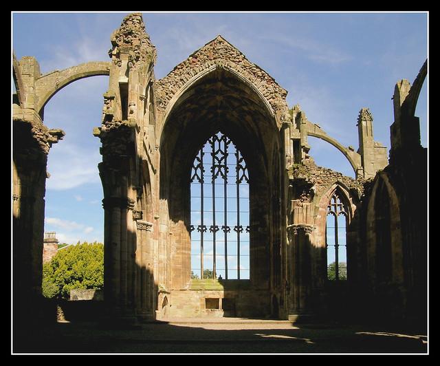 Scotland - Melrose Abbey