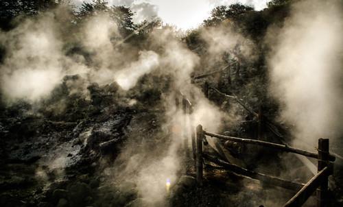 travel viaje sunrise landscape volcano nikon costarica paisaje steam amanecer crater humo vapor centralamerica volcan guanacaste centroamerica fumarolas dgr azufre pailas miravalles d5200 hornillas