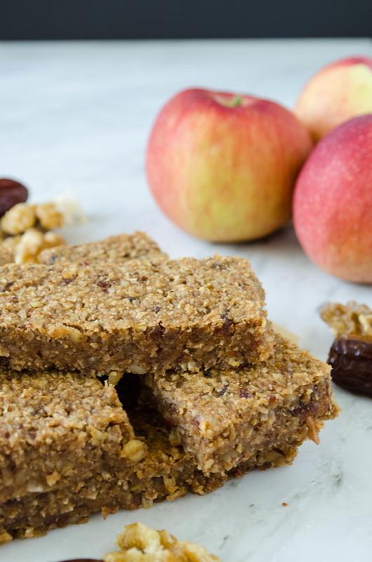 Cinnamon Apple Bars (Gluten Free)