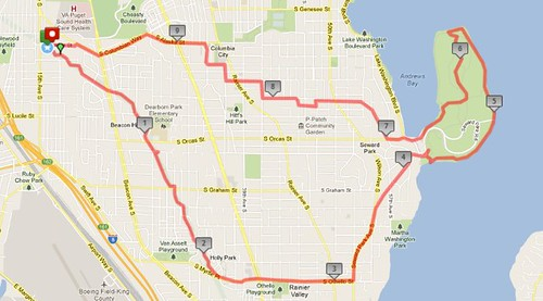 Today's awesome walk, 9.93 miles in three hours by christopher575