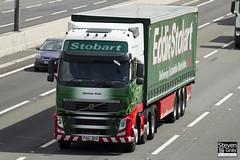 Volvo FH 6x2 Tractor - PX61 BKD - Gemma Kate - Eddie Stobart - M1 J10 Luton - Steven Gray - IMG_9541
