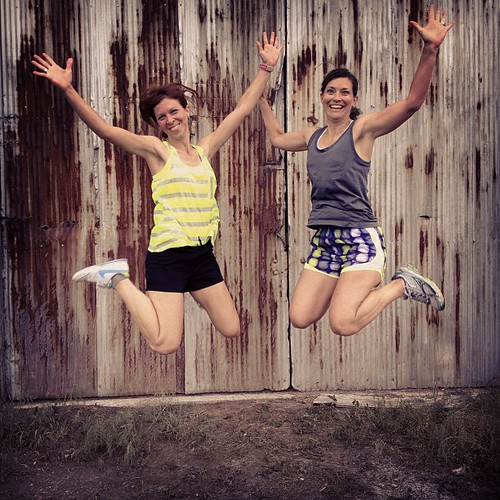 Found an old grain elevator which got these two excited. #katytrail