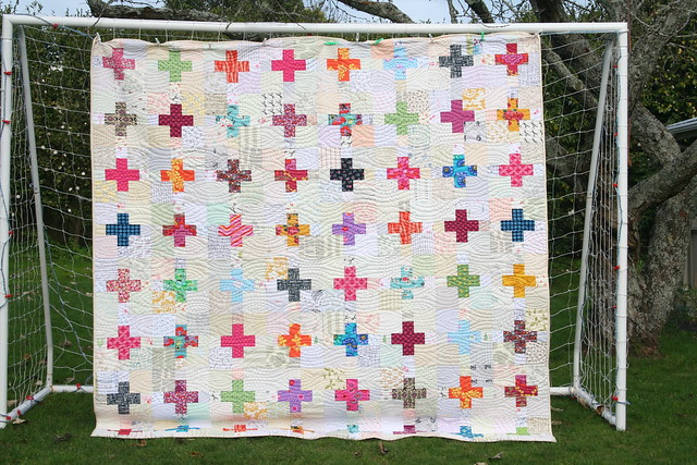 Low volume plus quilt