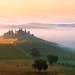 Tuscan sunrise by Thierry Hennet
