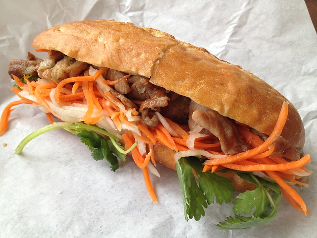 Pork banh mi - Little Saigon