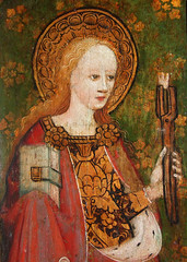 St Apollonia and her teeth (15th Century)