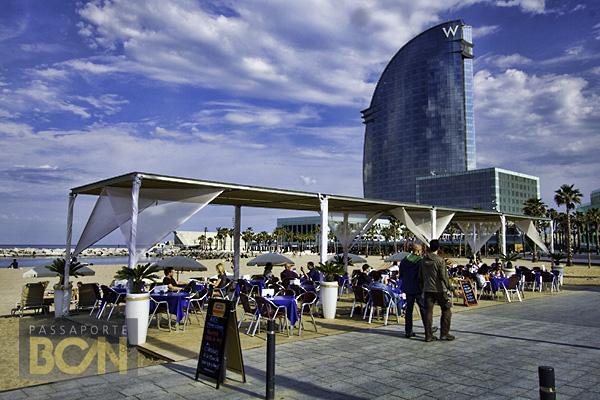 Platja de Sant Sebastià, Barcelona